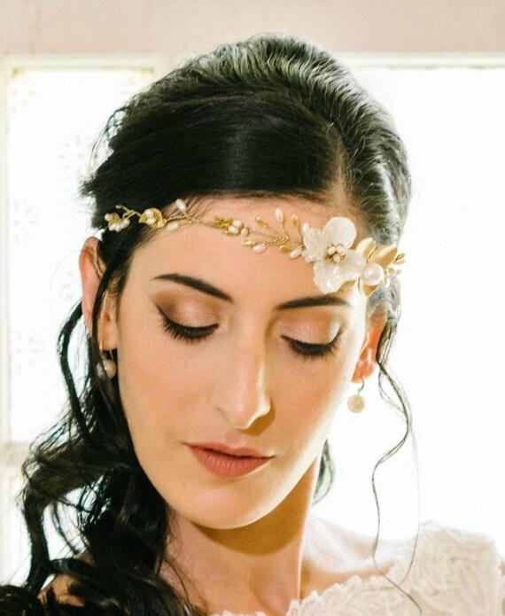 Ivory Crystal Girl Christening Baptism Wedding Bridesmaid Bride Hair clips