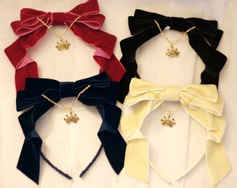 Made to Order: Regal Velvet Bow