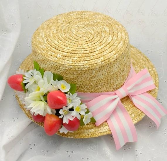 Custom Boater hat  dcae01794d7