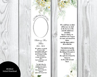 bookmark template etsy