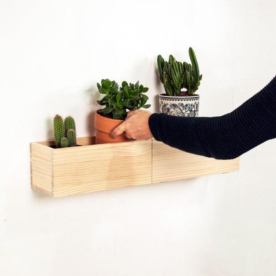 Zwevende Plank Met Lades.Moderne Muur Zwevende Houten Plank Met Lade Wall Mounted Etsy