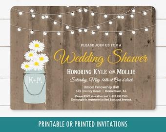 fbcfe70335f8 Daisy Bridal Shower Invitation