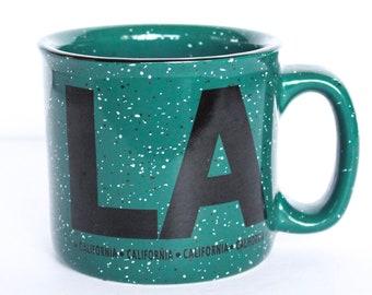 Vintage Los Angeles Coffee Mug, Los Angeles Mug, LA Mug, Vintage California Mug