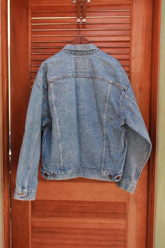 Vintage Levis Trucker Jacket, 1980s Levis 80s Lev… - image 5