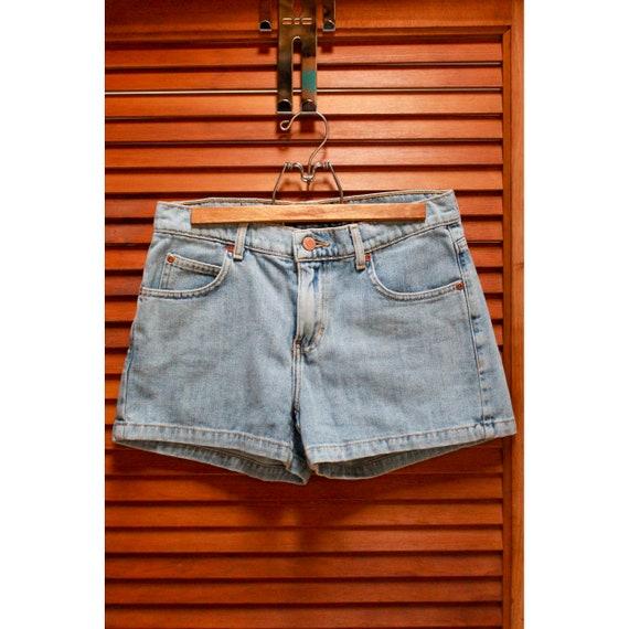 Vintage Roxy Shorts, Vintage Denim Shorts, Y2K Sho