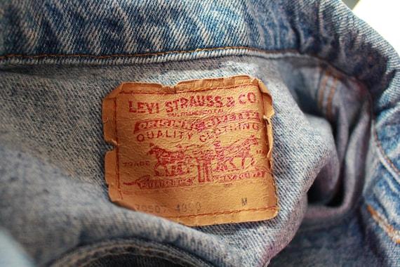 Vintage Levis Trucker Jacket, 1980s Levis 80s Lev… - image 6