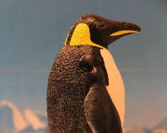 Detailed Emperor Penguin Figure