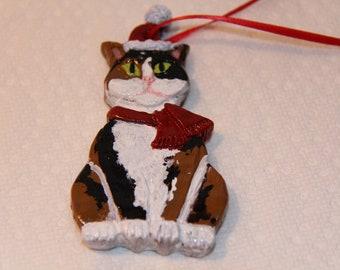 8f32ec8edba Calico Cat Flat Ornament