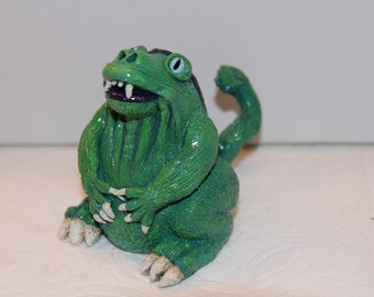 Green Creature (Friendly Monster) Figurine