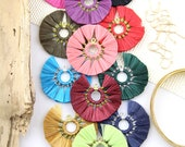 """Raffia Fan Tassels for Earrings, Fan Tassel Pendant, Necklace Supply, Handmade Jewelry Making Tassels, Eco-Friendly Natural Raffia 2"""", 1 pc"""