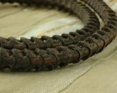 These Won't Bite You: Real Snake Vertebrae Beads from Africa , Approx. 10x9mm, Tribal, Oddities, JuJu, Creepy, Bone, Jewelry Making Supplies