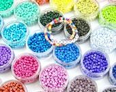 4mm Candy Disc Enamel Heishi Beads, for Tubular Bracelets, Trendy Tila Jewelry Making Supplies, Friendship Bracelet Beads, 10 pieces