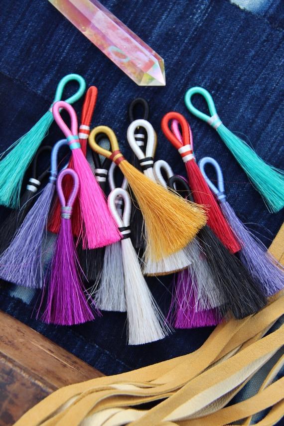 Mane And Magic Horse Hair Tassels Fall Pantone Colors Etsy