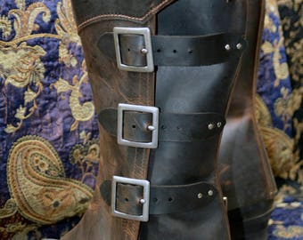 Cosplay gaiters for Arno Dorian