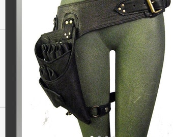 Custom Hairdressers Scissor Holster and waist pouch for Luis