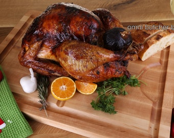 The Perfect Turkey Carving Board Cutting Board & Serving Board, Christmas