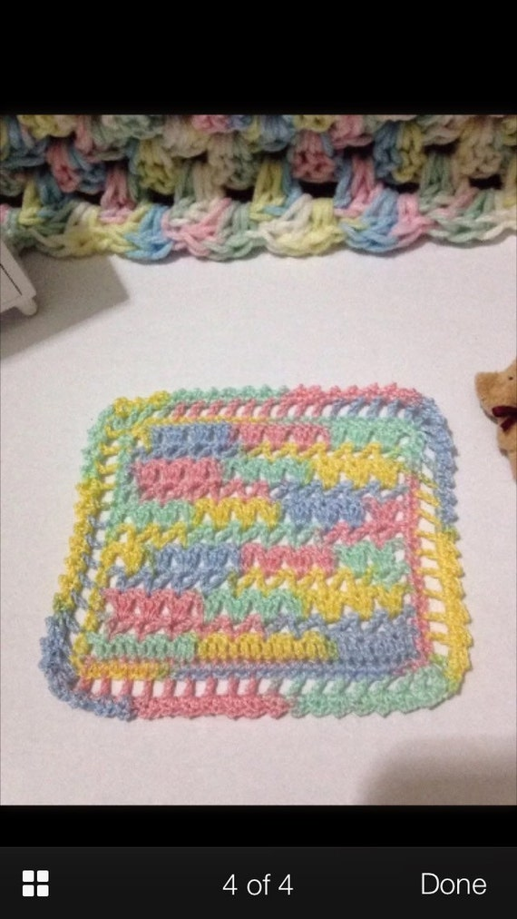 1/12th Scale Crocheted Granny Square Throw / Afghan - YouTube | 1012x570