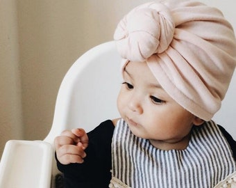 Top Knot Baby Turban 0638201e4e9