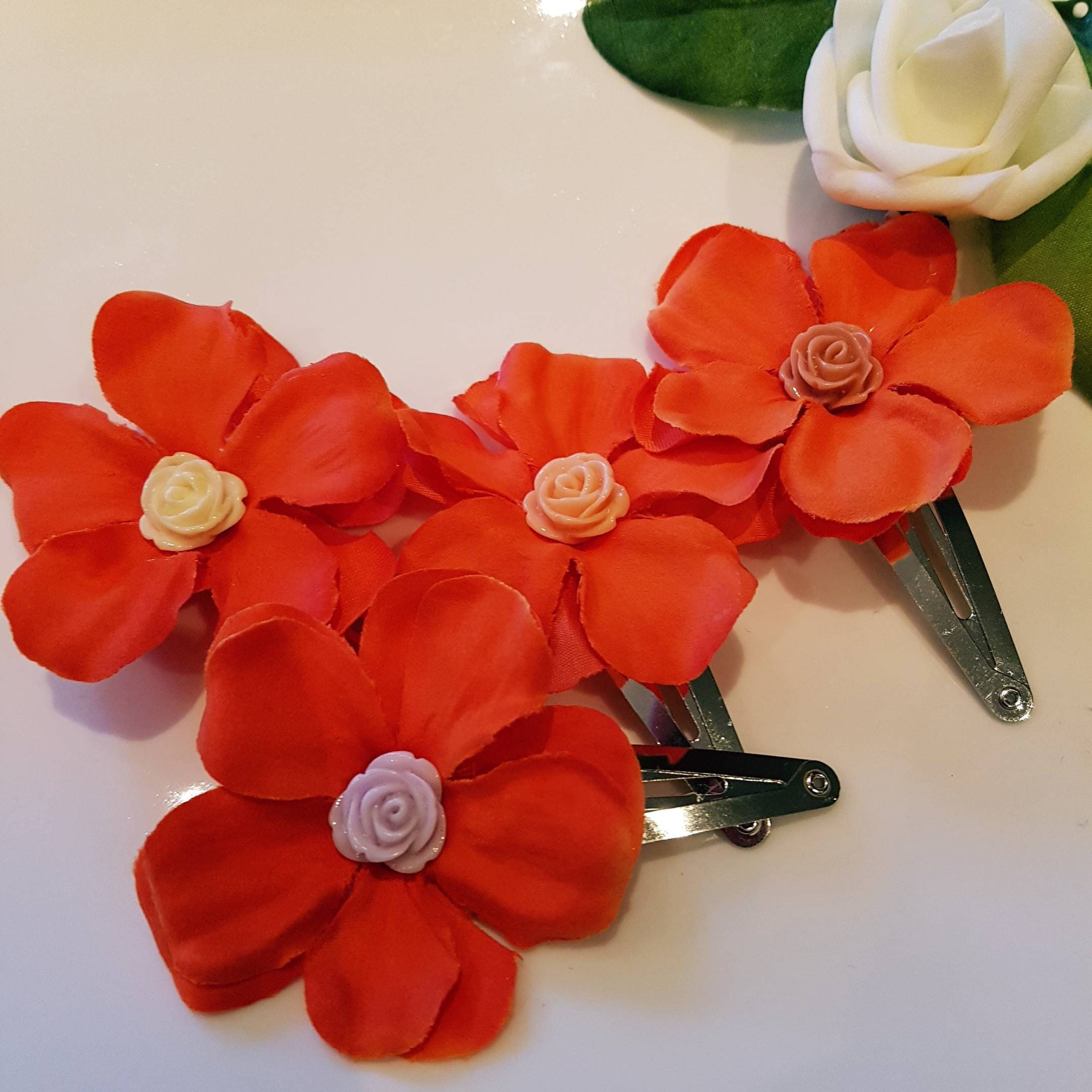 Moana Inspired Snap Clip Hair Accessories For Girls Birthday Etsy
