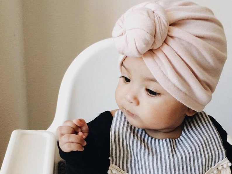 fde0a6df332 Top Knot Baby Turban Toddler Hat Head Wrap Outfit Baby Head