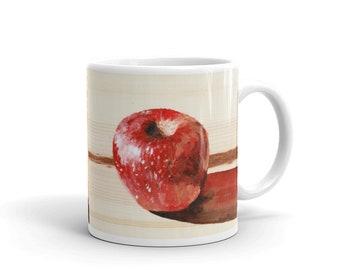 Good Apple/Bad Apple - Reversible - white glossy mug
