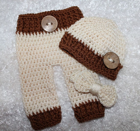 Newborn Pants Hat and Bow Tie Bringing Baby Home Baby Boy  1fcef4e9a61