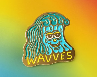 Killer Acid x Wavves Enamel Pin