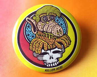 "Alf Your Face 2.25"" Button or Magnet"