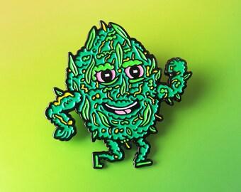 Tuff Nug Enamel Pin