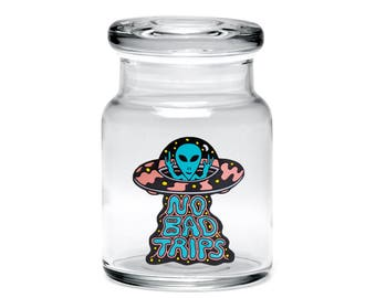 Pop Top Stash Jar