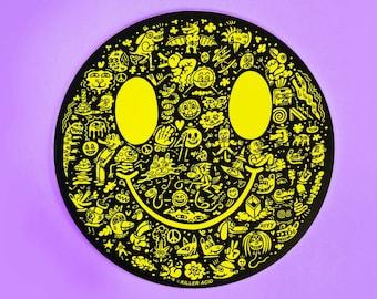 Killer Acid Miles of Smiles Sticker