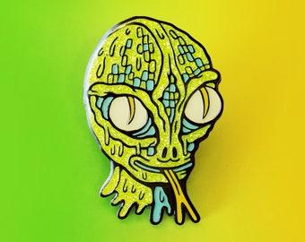 Reptilian Enamel Pin