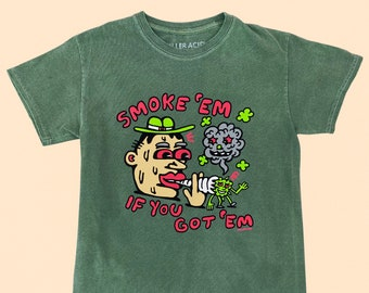 Smoke Em Killer Acid Tshirt
