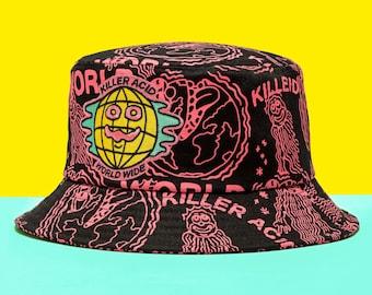Killer Acid World Wide Bucket Hat