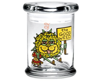 Medium Pop Top Stash Jar