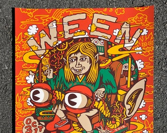 WEEN Poster, Chicago, Halloween Official