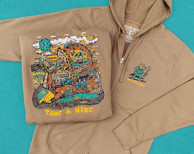 Featured listing image: Killer Acid Take a Hike Hoodie, Sandstone