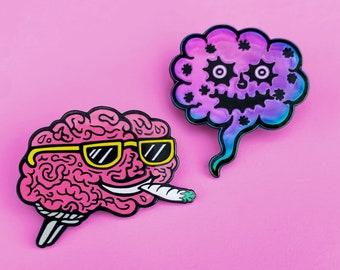 Brain on Drugs 2 pin set