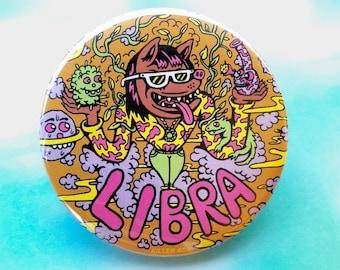 """Libra 2.25"""" Button"""