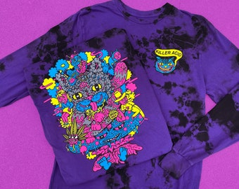 Cheshire OG Long Sleeve Purple Wash Shirt