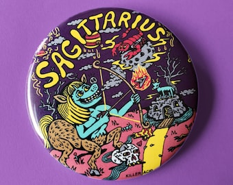 "Sagittarius 2.25"" Button"