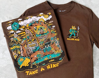 Take A Hike Chestnut T-Shirt