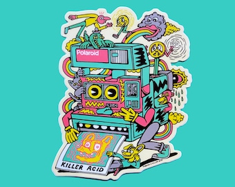 Killer Acid x Polaroid Sticker