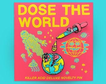 Dose The World Enamel Pin Set
