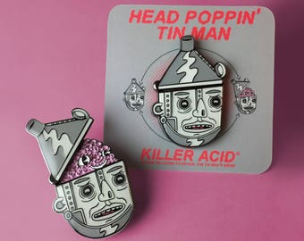 Head Poppin' Pin Man