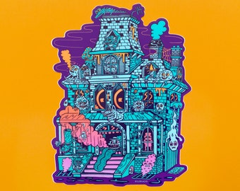 Spook House XL Killer Acid Sticker