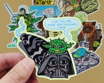 STAR WEEDS Sticker Set