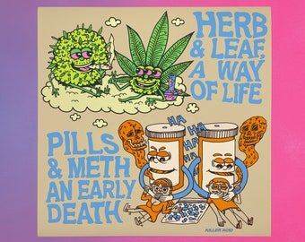 Herb & Leaf print