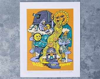 Rise and Shine Blotter Art Print