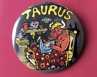 "Taurus 2.25"" Button"